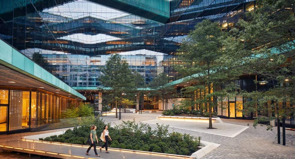Midtown Center: Oficinas de cristal en Washington. Proyecto de Shop Architects