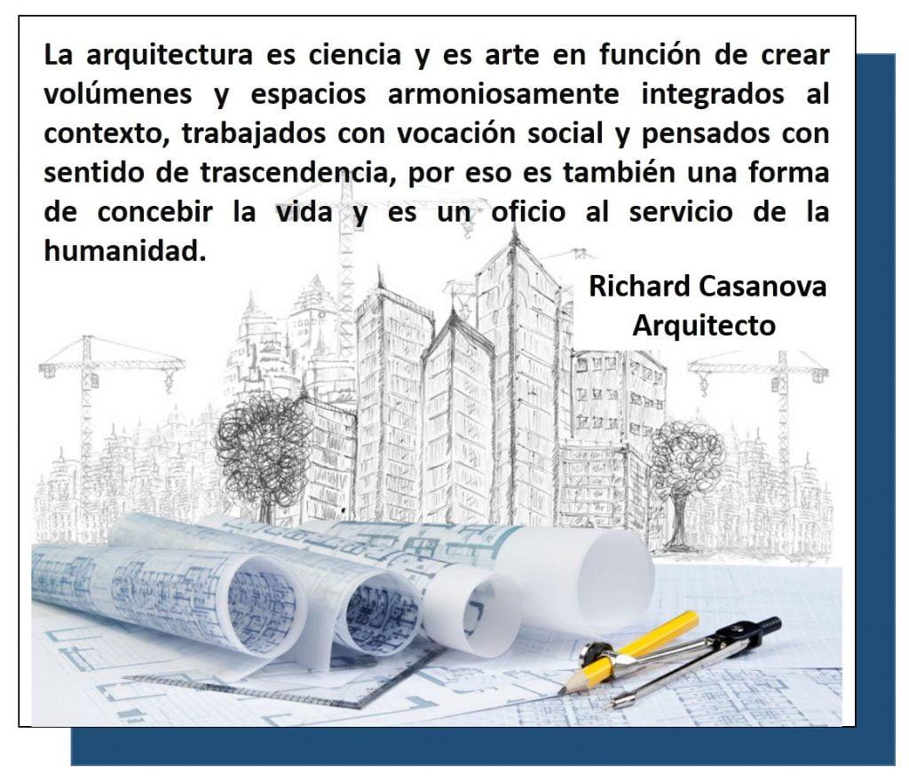 Arquitectura - Un concepto de Richard Casanova