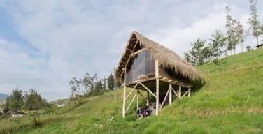 Cabaña sostenible