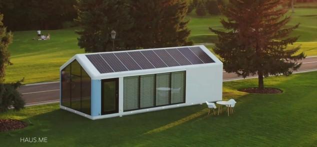 Casa solar prefabricada: 20 veces más eficiente que una convencional
