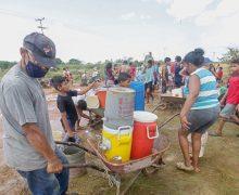 Continúan protestas por falta de agua y gas en Puerto Ordaz