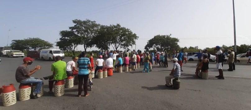 Cumaná: en promedio 2 protestas diarias por gas doméstico