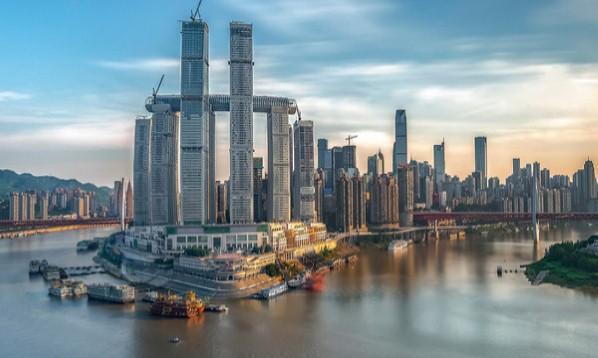 El Cristal: un rascacielos horizontal en China