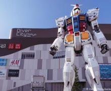El robot más grande del mundo está en Japón