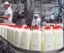 Industria láctea opera entre 15% y 20% de su capacidad instalada