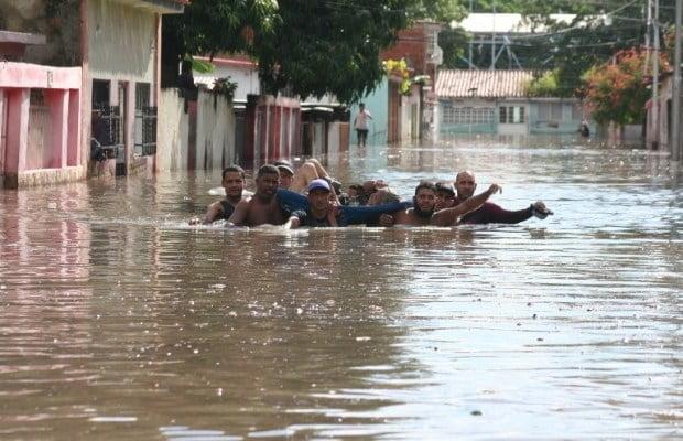 Inundaciones afectaron seis municipios de Aragua