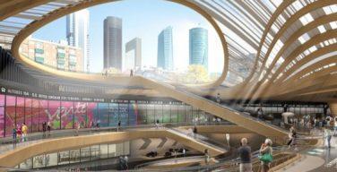 La nueva estación de Chamartín - epicentro del futuro distrito financiero de Madrid