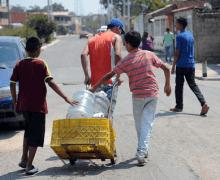 Más de 60% de habitantes de Caracas y Petare carecen de agua