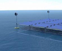Plataforma oceánica modular e híbrida para aplicaciones renovables