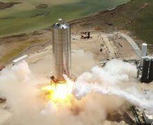 Prototipo del Starship de SpaceX realiza vuelo de prueba