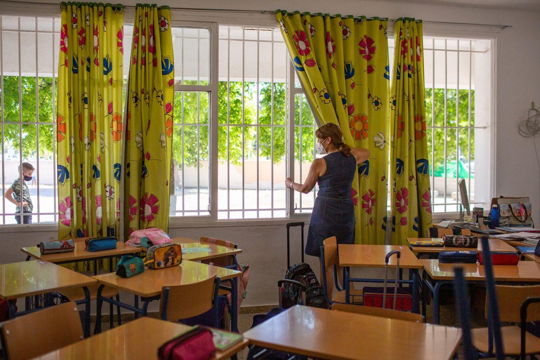 Reto para los docentes: ventilar las aulas de clases por el Covid19