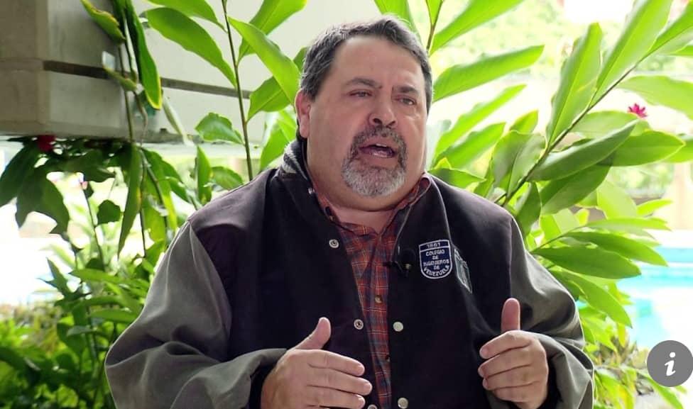 Richard Casanova, presidente de la fundación Construyen País