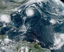 Se forman 5 ciclones tropicales en el Atlántico al mismo tiempo