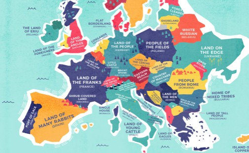 Significado del nombre de cada país del planeta – Mapa