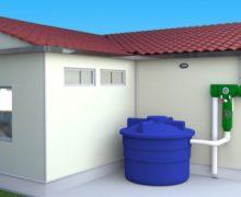Sistema de captación y potabilización de agua de lluvia