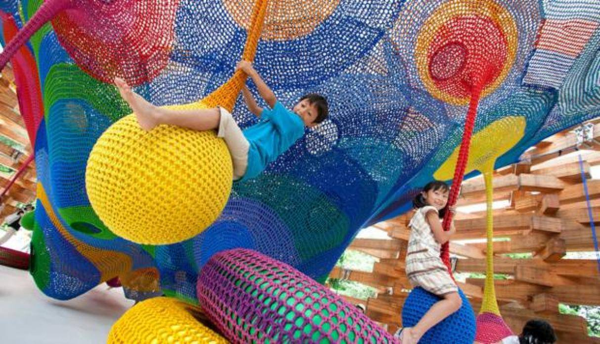 The Wood of Net Playground, Japón. (Foto: www.archdaily.com)