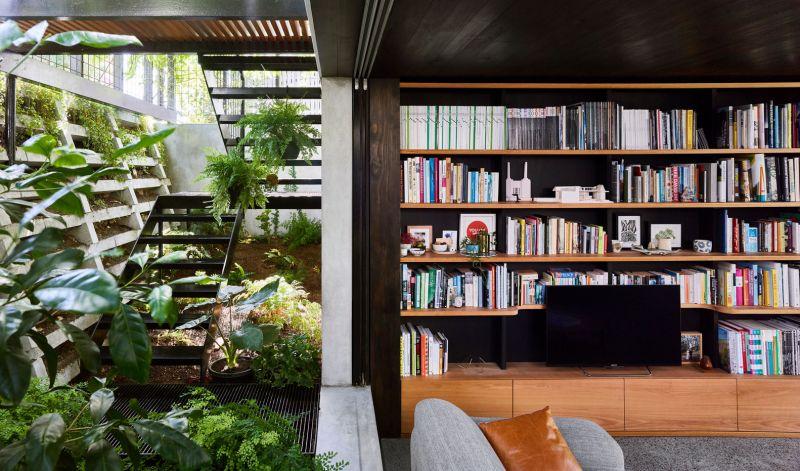 Terrarium House: las plantas como protagonistas en la casa
